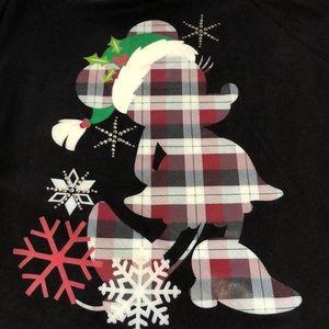 Minnie mouse Christmas sweatshirt